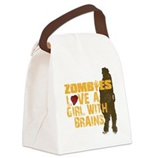 Zombiesloveagirll Canvas Lunch Bag