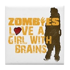 Zombiesloveagirll Tile Coaster