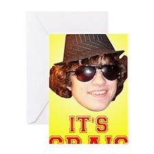 Craig 3 Greeting Card