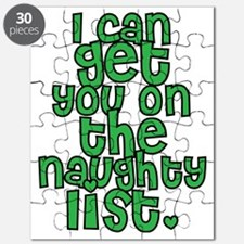 Naughty List - Christmas Puzzle