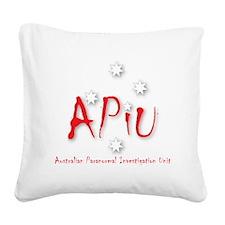 APIU Logo Square Canvas Pillow