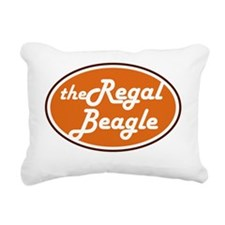 regal beagle kid Rectangular Canvas Pillow