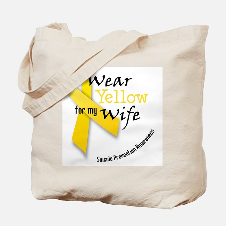 i_wear_yellow_wife Tote Bag
