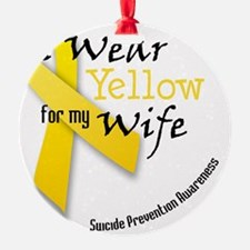 i_wear_yellow_wife Ornament