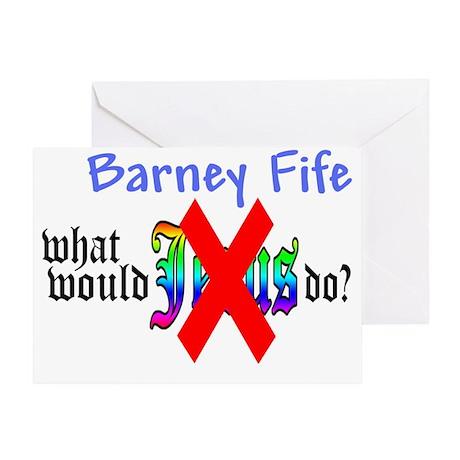 all new barney fife copy Greeting Card
