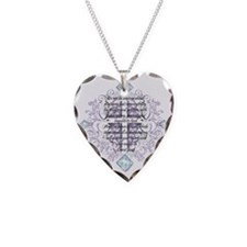 Anxious Necklace Heart Charm