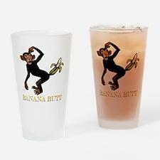 banana butt Drinking Glass