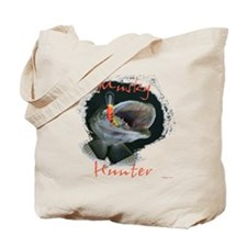 Muskie hunter Tote Bag