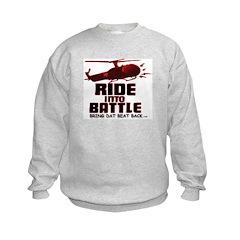 ride into battle Sweatshirt