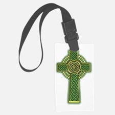 Celtic Cross 2 light Luggage Tag