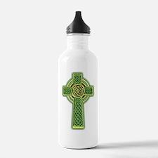 Celtic Cross 2 light Water Bottle