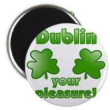 dublin_your_pleasure_both Magnet