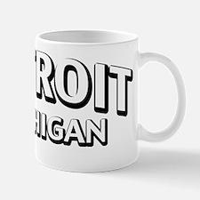 Detroit, MI Mug