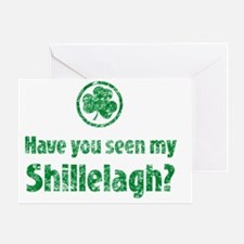 have_you_seen_shiilelagh_light Greeting Card