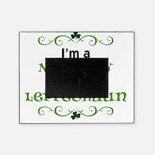 im a naughty little leprechaun light Picture Frame