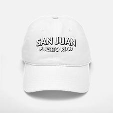 San Juan, PR Baseball Baseball Cap