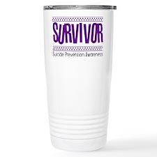 purple_survivor Travel Mug