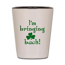 im bringing sharock back light Shot Glass