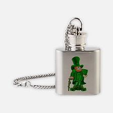 leprepimp_notext_both Flask Necklace