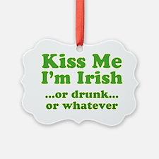 kiss_me_im_irish_or_whatever_both Ornament