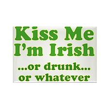 kiss_me_im_irish_or_whatever_both Rectangle Magnet