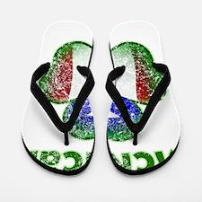McRican distressed both Flip Flops