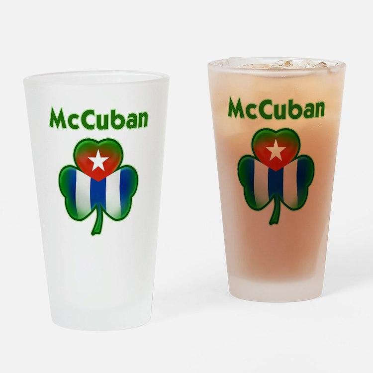 McCuban_both Drinking Glass