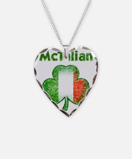 McTalian distressed both Necklace Heart Charm