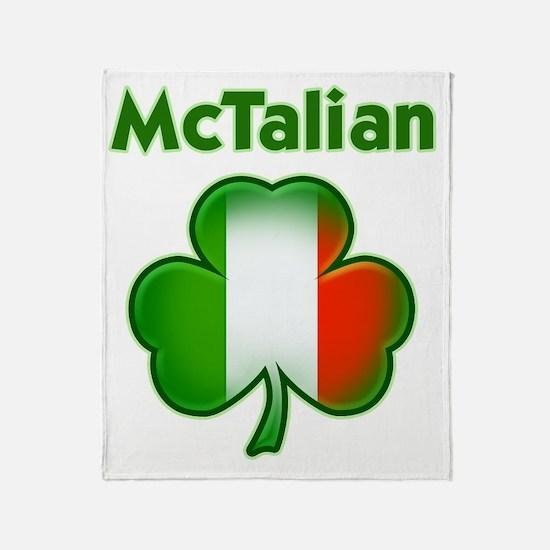 McTalian both Throw Blanket