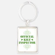 official_kilt_inspector_dark Portrait Keychain