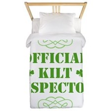 official_kilt_inspector_dark Twin Duvet