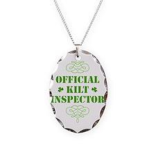 official_kilt_inspector_dark Necklace