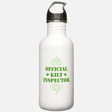 official_kilt_inspecto Water Bottle