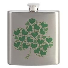 shamrock_made_of_hearts_both Flask