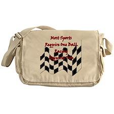 racing slogan Messenger Bag