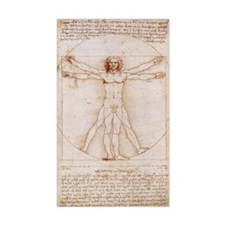 Vitruvian Man Decal
