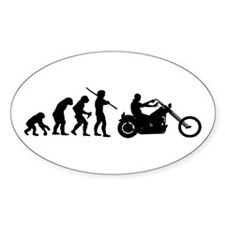 Evolution Oval Decal