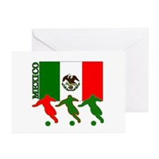 Soccer Mexico Greeting Cards (Pk of 10)