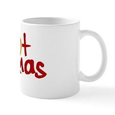 Hot Mamas Logo for Dark Bkg Mug