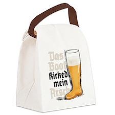 2-das boot Canvas Lunch Bag