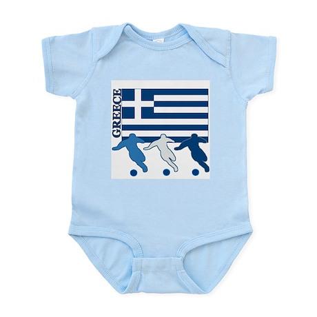 Soccer Greece Infant Bodysuit