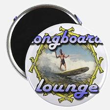 longboard lounge Magnet