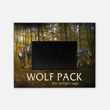 Eclipse Wolf Pack Picture Frame