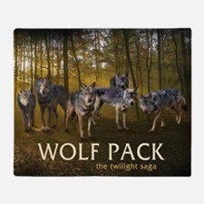 Eclipse Wolf Pack Throw Blanket