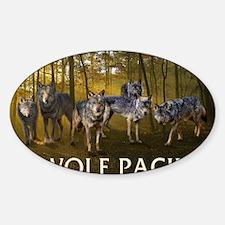 Eclipse Wolf Pack Sticker (Oval)