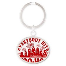 2-Everybody Hits Philly Oval Keychain