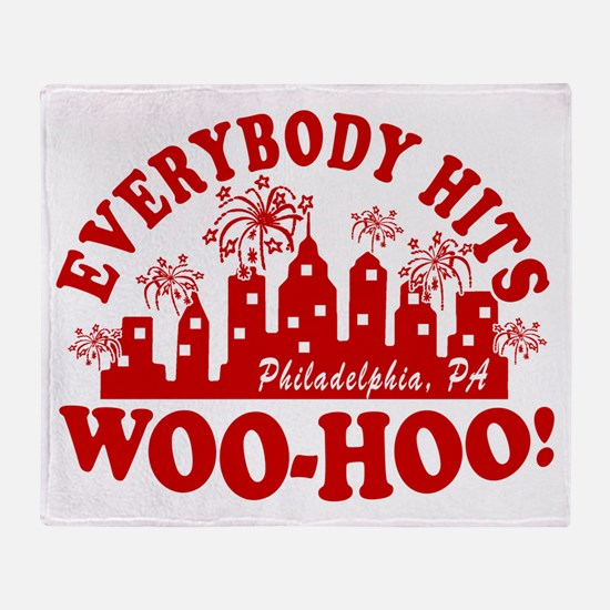 2-Everybody Hits Philly Throw Blanket