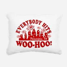 2-Everybody Hits Philly Rectangular Canvas Pillow