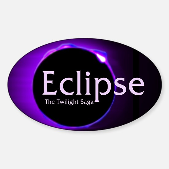 Eclipse Sticker (Oval)