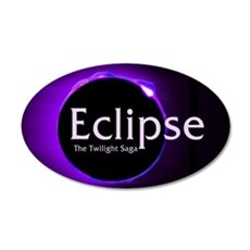 Eclipse 35x21 Oval Wall Decal